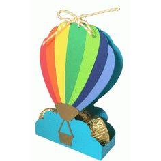 hot air balloon favor box