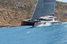 Sailing Catamaran, Boat, Dinghy, Boats, Ship