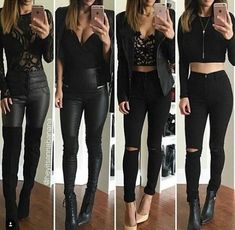 30 Chic Outfit For a Night Out Club Outfits Jeans 9d878c050