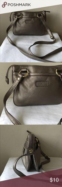 "Relic crossbody bag Metallic vegan leather crossbody bag - zipper closure - adjustable strap - 23"" strap drop - 9"" x 6"" x 3"" Relic Bags Crossbody Bags"