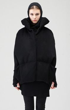 DEMOO PARKCHOONMOO - Photo Down Puffer Coat, Fashion Outfits, Womens Fashion, Hoodies, My Style, Fashion Designers, Sweaters, Jackets, Clothes