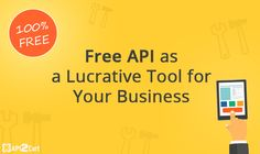 Find out how to make profit by means of free API