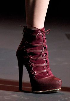 garnet red combat boots - Google Search