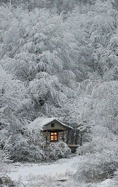 A log cabin for hunters in the Siberian forest. #Russian