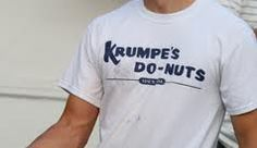 Get your Krumpe tee today at krumpesdonuts.com