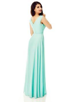 Pentru cele mai sofisticate aparitii de vara la evenimentele festive, opteaza pentru rochia Scareltt menta de seara lunga delicata si luxurianta. One Shoulder, Formal Dresses, Fashion, Dresses For Formal, Moda, Formal Gowns, Fashion Styles, Formal Dress, Gowns