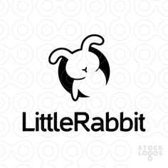 Animal Logo Design of a black bunny or rabbit comming out from a dark hole For Sale On StockLogos Branding Design, Logo Design, Graphic Design, Logo Rabbit, Rabbit Icon, Black Bunny, Cartoon Logo, Photoshop, Make Your Logo