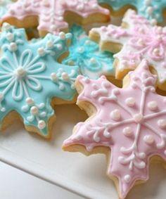 Table de Noël: Biscuits au sucre