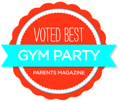 The Little Gym was named BEST Gym Party by Parents Magazine! http://www.parents.com/fun/birthdays/ideas/top-10-birthday-chains-for-kid-birthday-parties/?page=2