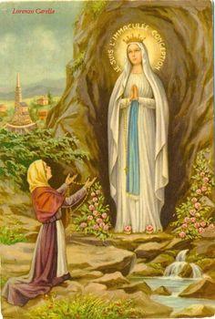 Cartoline di Lourdes