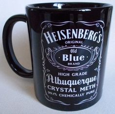 Caneca Breaking Bad Heisenberg Whisky