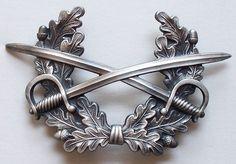 West Germany Vintage Bundeswehr Infantry Hat Badge
