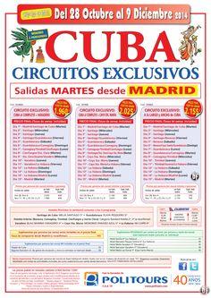 CUBA al completo + Varadero, sal. Martes del 4/11 al 09/12 dsd Madrid (15d/13n) p.f. desde 1.960€ ultimo minuto - http://zocotours.com/cuba-al-completo-varadero-sal-martes-del-411-al-0912-dsd-madrid-15d13n-p-f-desde-1-960e-ultimo-minuto/