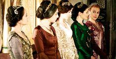 Gulfem Sultan, Mahidevran Sultan, Hatice Sultan, Sah Sultan & Hürrem Sultan - Magnificent Century - Season 3
