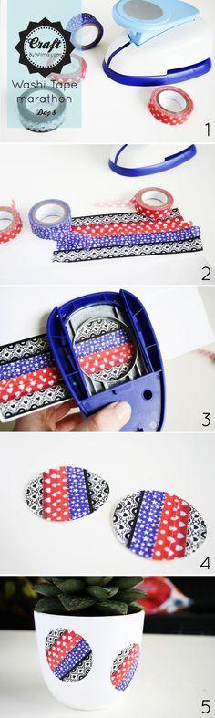 DIY washi stickers