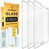 [3-PACK]  Mr Shield For Samsung Galaxy Note 4 [Tempered Glass] Screen Protector [0.3mm Ultra Thin 9H Hardness 2.5D Round Edge] with Lifetime Replacement Warranty