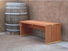 Superb Wood Bench Par BestRedwood Sur Etsy Pictures