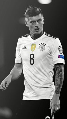 German Midfield Beast. German Football Players, Football Icon, World Football, Soccer Players, Football Soccer, Toni Kroos, Fifa, Germany National Football Team, Sport Model