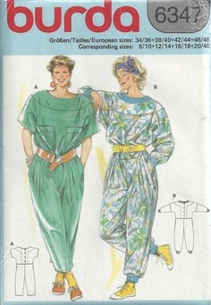 e7409af6776a 36 Best jumpsuits + coveralls + rompers - vintage sewing patterns ...