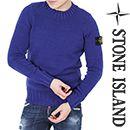 Wiberlux STONE ISLANDKnit Sweater(Blue)14FW - 6115512A2