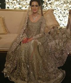 Pakistani Bridal Couture, Pakistani Wedding Outfits, Bridal Outfits, Pakistani Dresses, Indian Dresses, Bridal Dresses, Bridal Lehenga Collection, Walima Dress, Engagement Dresses