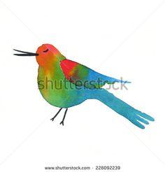 Watercolor Love Fotos, imagens e fotografias Stock | Shutterstock