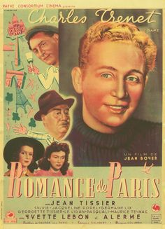 Affiche : Romance de Paris in DVD, cinéma, Objets de collection, Affiches, posters | eBay #chrisdeparis 220€