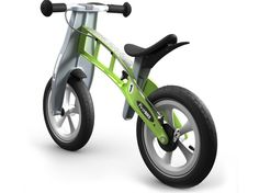 FirstBIKE Racing Green  With world-renowned Schwalbe Big Apple tires for maximum traction on any surface.