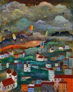 Alberto Guignard – Balões - Coleção da Fundação Edson Queiroz