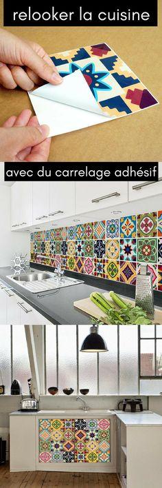 tile stickers tiles for kitchen bathroom back splash floor decals patchwork mix eclectic 60. Black Bedroom Furniture Sets. Home Design Ideas