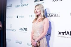 Kate Moss at the annual amfAR The Foundation for AIDS Research Inspiration Gala in São Paulo  Kevin Tachman / BackstageAT  More images: http://bkstge.at/amfARsp2015