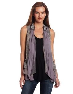 #Calvin #Klein Jeans Women's Spacedye Sweater #Vest   really love it!   http://amzn.to/HoFOMI