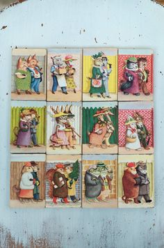 Garth Williams - Set of 12 Miniature Hardcover A Tiny Golden Books