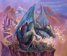 Green Dragon - Judy Mastrangelo - Artist