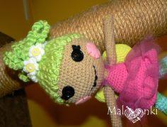 amigurumi lalaloopsy doll crochet furkotka