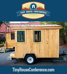 10 foot tiny house for a traveling carpenter
