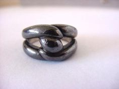Classic twist ring, DO PEEK size 7. #Hermes