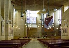José Rafael Moneo:  interior, Cathedral of Our Lady of the Angels (Los Angeles, CA)