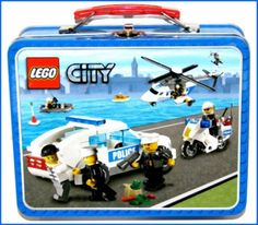 LEGO City: Metal Lunch Box