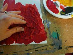 that artist woman: Poppy Mixed Media