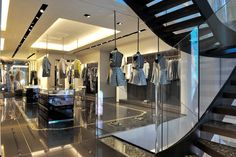 Retail Design | Store Interiors | Shop Design | Visual Merchandising | Retail Store Interior Design | Roberto Cavalli, Montenapoleone, Milan, Italy