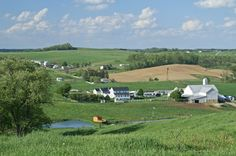 Travel the world through Webshots photos-Ohio Amish Landscape in Amish country