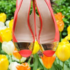 Our Peep-Toe Slingback Sandals are perfect for sunny weather!