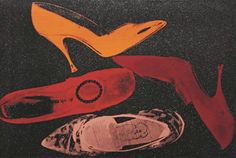TheHistorialist: 1980-1981 | ANDY WARHOL | POP ARTisan | DIAMOND DUST SHOES