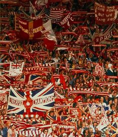 The Kop, Anfield, Liverpool, England.