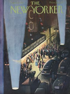 The New Yorker cover: Sep. 26, 1953.