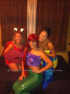 Sexy Little Mermaid Halloween Costume ...This website is the Pinterest of costumes