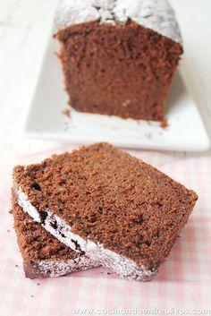 Bizcocho de calabacin y chocolate (8) by Cocinando entre Olivos, via Flickr