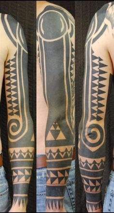 Blackart tattoo