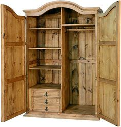 Corona Rustic Wardrobe Armoire R Any individual can develop a property sweet house, even when the price range is tight. There are many ideas. Clothes Drawer Organization, Wardrobe Storage Cabinet, Wardrobe Cabinets, Tall Cabinet Storage, Armoire Wardrobe, Wooden Wardrobe Closet, Clothing Armoire, Jewelry Armoire, Antique Wardrobe